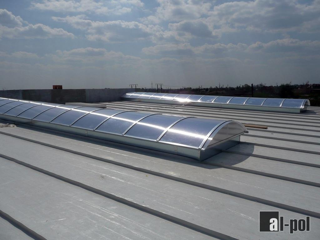 Groovy Al-Pol - świetliki dachowe, daszki, świetliki kopułkowe EM69
